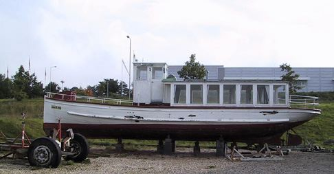 Motorpassagerbåd GL. TURISTEN